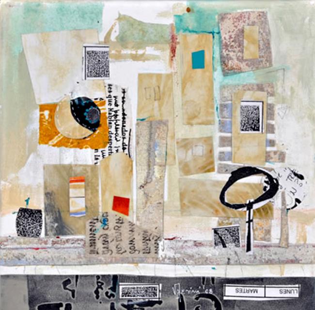 Obra plástica de la artista Silvina Valesini